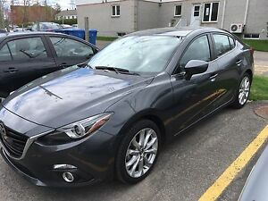 Mazda 3 GT 2014 seulement 4000km