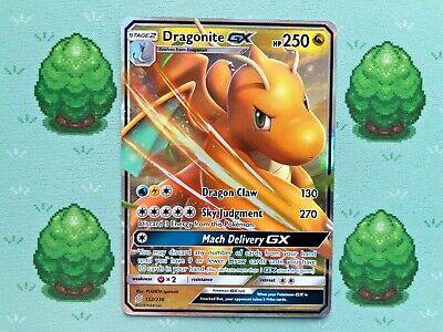 Pokemon - Dragonite GX - 152/236 - SM Unified Minds - Half Art
