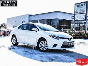 2016 Toyota Corolla LE ONLY 92807KM 6.1 TOUCHSCREEN