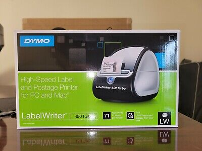 Dymo Labelwriter 450 Turbo High Speed Label And Postage Printer For Pc And Mac