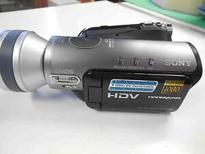 Sony HDV HandyCam digital HD camara recorder Alfords Point Sutherland Area Preview
