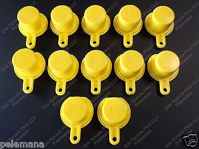 12 Blitz Yellow Spout Caps Mr Yellow Cap Blow Out Sale W Free Shipping 900302