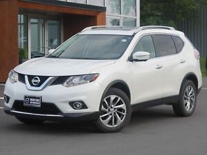 2015 Nissan Rogue SL AWD | HEATED LEATHER | NAV | SUNROOF