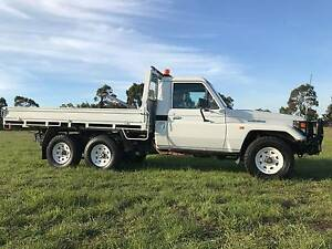 2002 Toyota LandCruiser 6X4 extended chssis Ute RWC completed Mulgrave Monash Area Preview