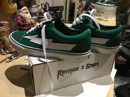 Revenge x Storm Vans Vol 1 GREEN Size 12 - Ian Connor - Mens Shoe