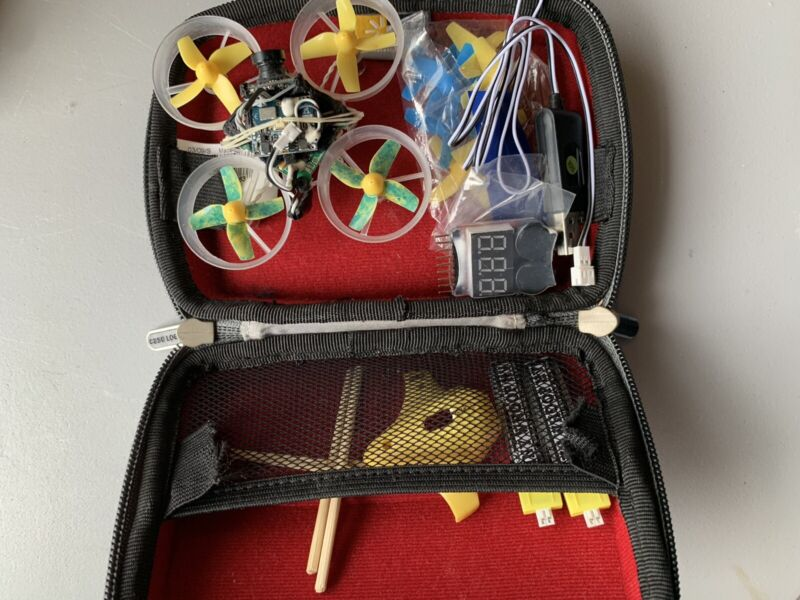 FPV Tiny Whoop with accessories (with case)