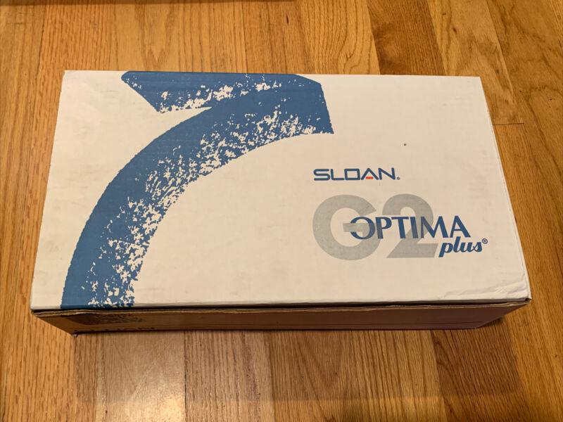 Sloan G2 Optima Plus 8186 Flushometer 1.0 GPF Exposed Battery Operated Sensor