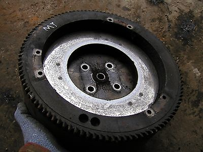 John Deere Mt Tractor Original Jd Engine Motor Flywheel With Ring Gear