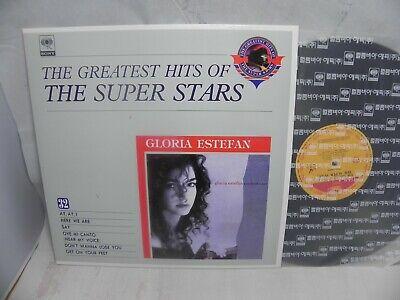 Gloria Estefan Cuts Both Ways 1991 Korea LP / The Super Stars Series