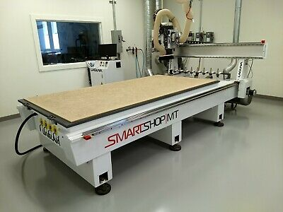 Laguna Cnc Router 48x96 Smartshop Mt 12hp Spindle Er32 With 12.5hp Becker Pump