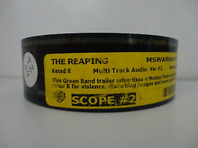 The Reaping (2007) 35mm Movie Trailer #2 Film Cell Collectibles SCOPE 2min - Film Halloween 2 Trailer