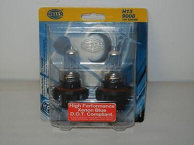 HELLA H83135362 HEADLIGHT BULB H13 9008 60/55 WATT XENON BLUE 2 PACK