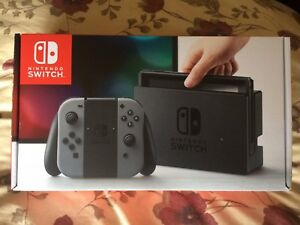Nintendo Switch Console - Grey Color - Brand New and Unopened