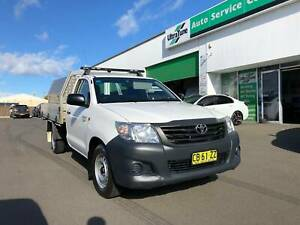 2014 Toyota Hilux WORKMATE Manual Ute Blacktown Blacktown Area Preview