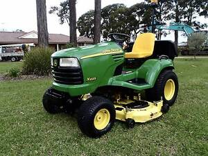JOHN DEERE X495 DIESEL RIDE ON UNDER BELLY LAWN MOWER TRACTOR Austral Liverpool Area Preview
