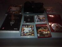 Ps3, 6 games and accessory for sale