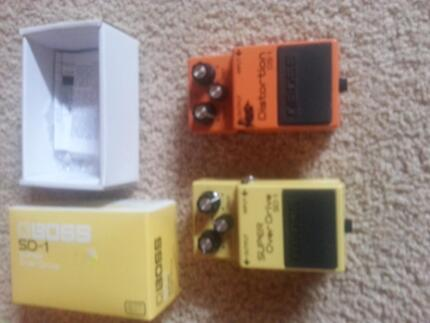 guitar effect pedals Wilberforce Hawkesbury Area Preview