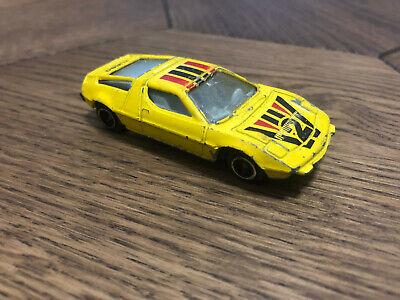 Maserati Bora Yellow Nr2 Diecast Scale Model