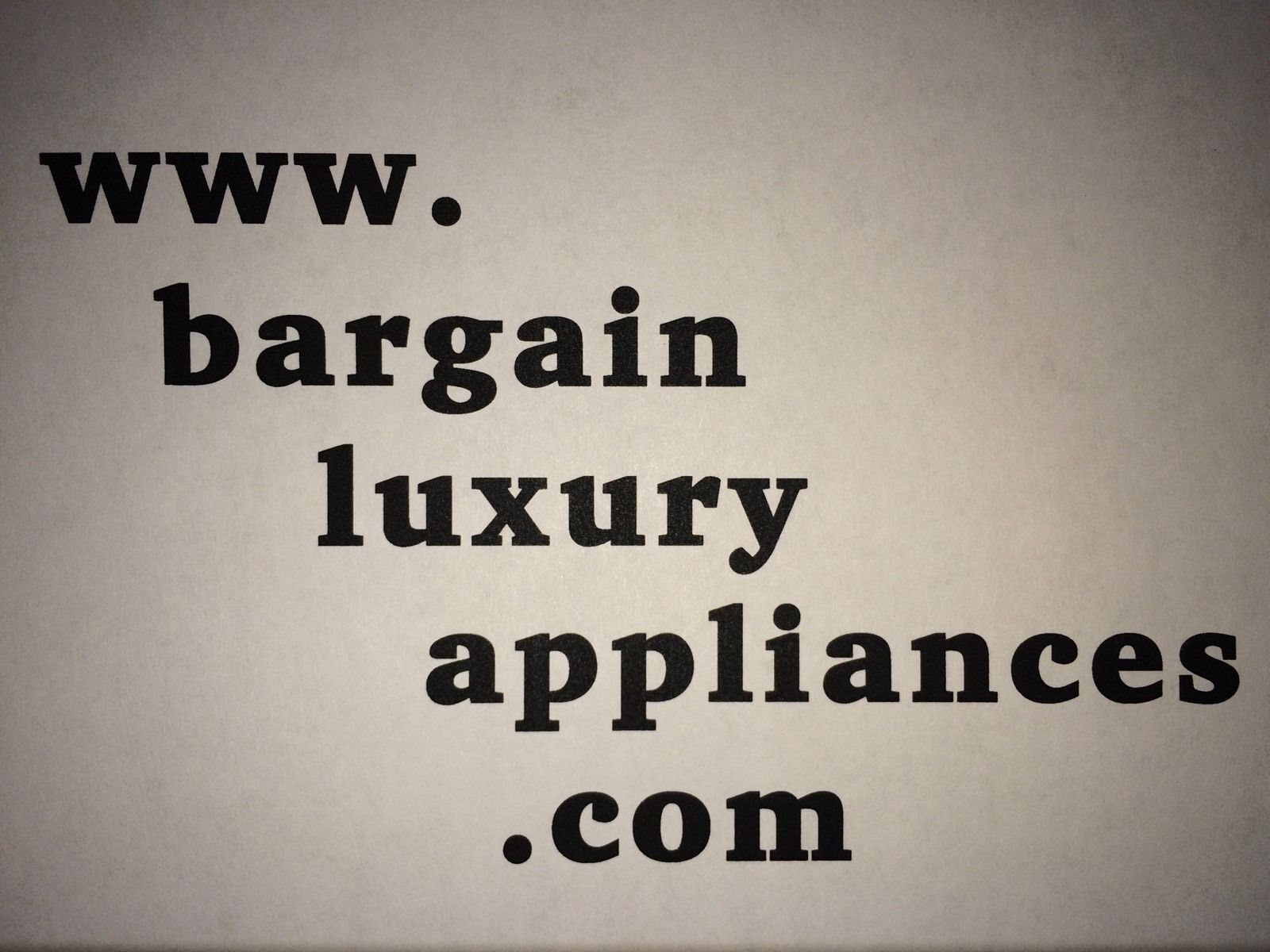 bargainluxuryappliances