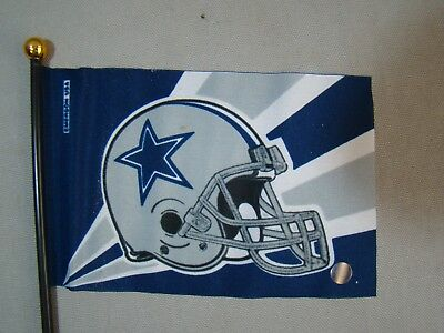Dallas Cowboys flag car truck 4x6 inch flag Dallas Cowboys license plate topper