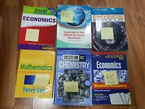 HSC textbooks - achieved 99.6 ATAR