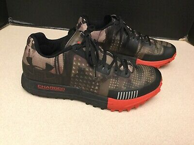 Mens Under Armour Horizon RTT Camo Trail Running Shoes. Size 8. Awesome Shoes!