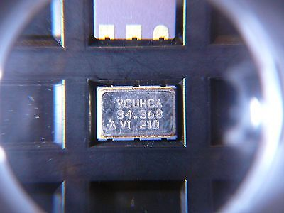 Vectron Vcuhca-34.3680mhz Vcxo Crystal Oscillator 1-ch 6-pin Ceramic New Qty.10