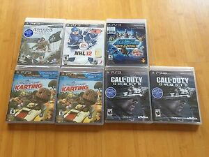 BRAND NEW PS3 GAMES