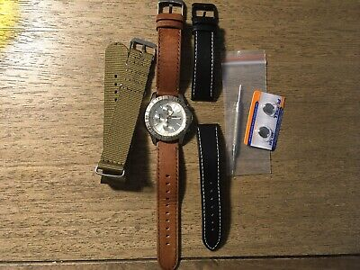 Fossil Speedway Chrono Watch 40mm CH-2398  - New Battery +Extras