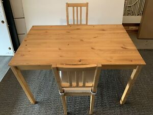 Ikea Table with Two Chairs - Free Delivery
