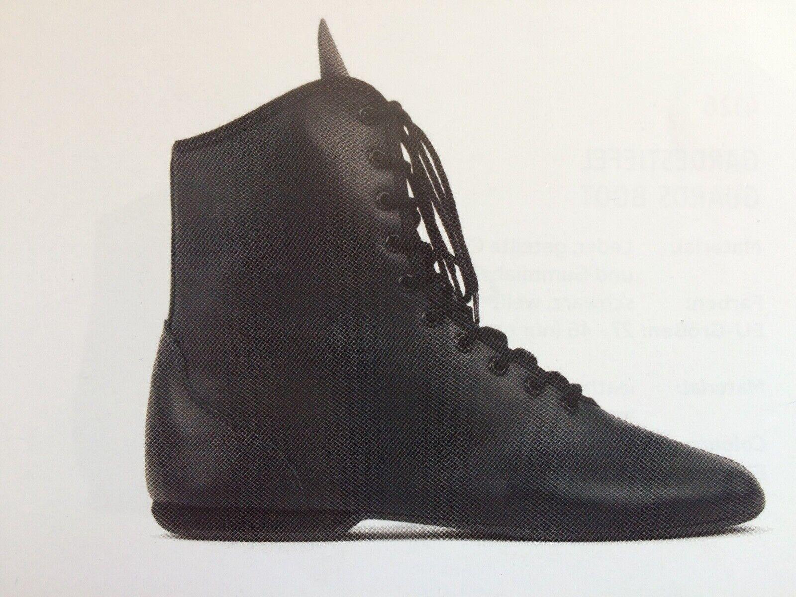 Rumpf HIT I Garde Tanz Mariechen Stiefel Show Akrobatik Gr. 27 - 49 weiß schwarz