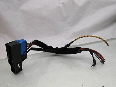 BMW 5 series E39 95-03 530D NS LH left front door wiring harness connector