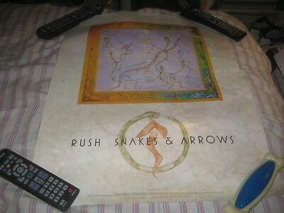RUSH-SNAKES & ARROWS-1 POSTER-18X24 INCHES-NMINT!!!!