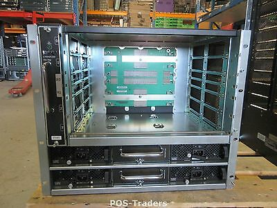 Dell Networking C150 9RU EMPTY Chassis GJYR8  four blade I/O INCL 1X FANS 4X PSU