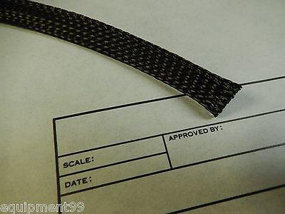 Braided Sleeving - Black 200