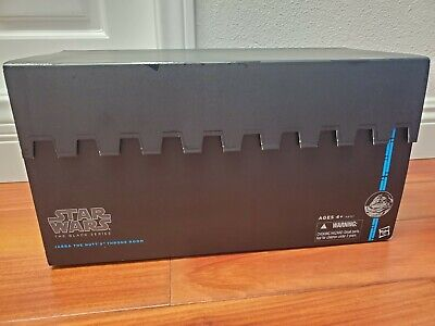 Star Wars Black Series 2014 SDCC Jabba The Hutt's Throne Room. New / Sealed!