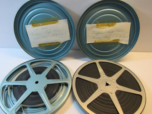 Home Movies - Lot of 2 European Vacation 8mm - 1960