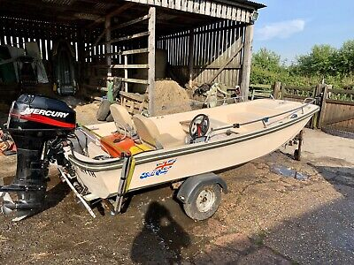 Dell Quay Dory 13ft Boat