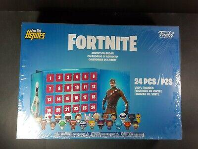 Funko Pop Fortnite Advent Calendar Mini Figures 24 pc NEW FREE Priority Shipping