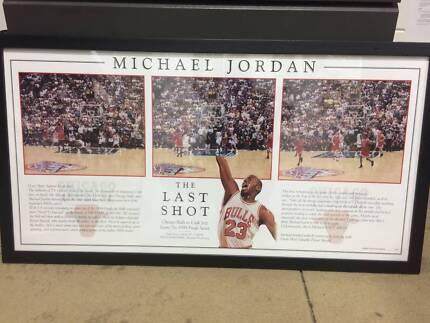 Michael Jordan 'The Last Shot' Print/Picture