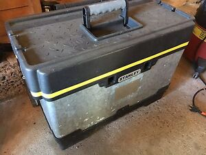 Stanley tool chest.