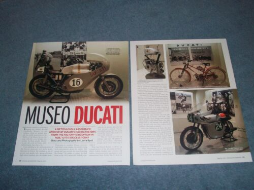 "Ducati Motorcycle Museum Article ""Museo Ducati"""