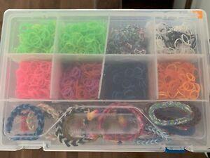 Boîte pour fabrication de bracelet en élastique