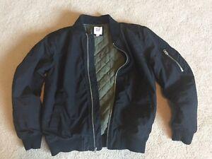 Gap XS bomber jacket black