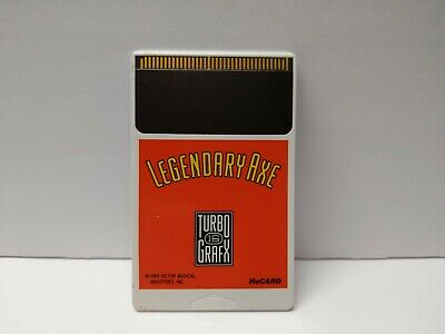 Legendary Axe (TurboGrafx-16, 1989) TESTED AUTHENTIC FAST