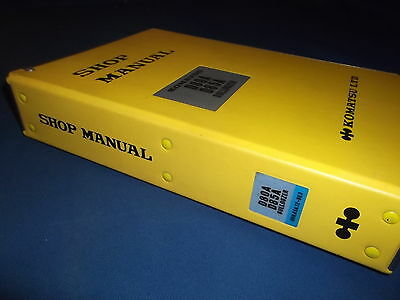 Komatsu D80a D85a D80e D85e D80p D85p-18 Dozer Service Shop Repair Book Manual