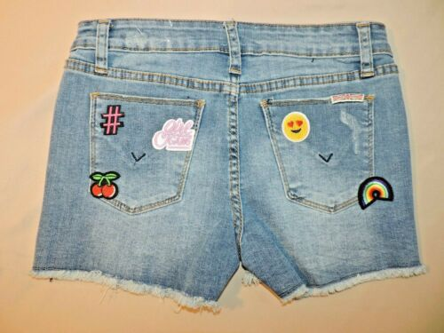 Hudson Jean Shorts With Patches Girls