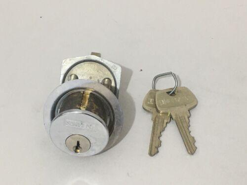 SARGENT Assa Abloy Rim Cylinder Lock w/ 2 Keys RE Keyway Locksmith Locksport