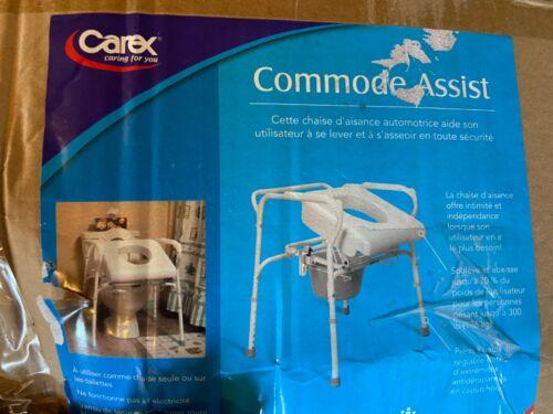 CAREX 1 EA Uplift Commode Assist, White CA200 CHOP
