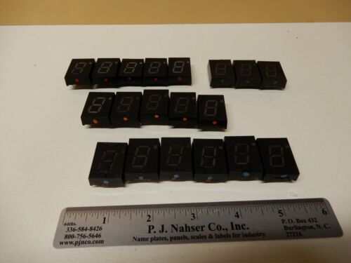 Lot of Large Used? Seven Segment Displays Unknown Make